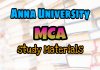 Anna University MCA Question Bank Collection