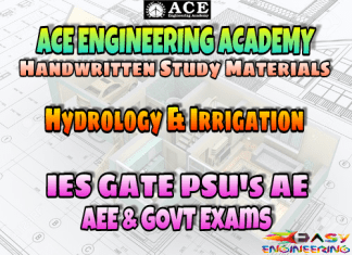 Hydrology and Irrigation Ace Academy