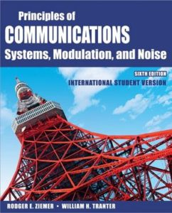 Principles of Communications By Rodger E. Ziemer, William H. Tranter – PDF Free Download