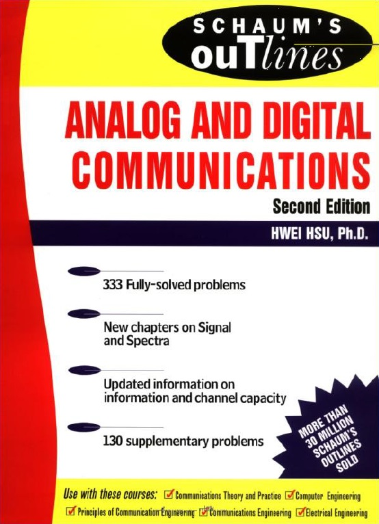 PDF] Schaum's Outline of Analog and Digital Communication By Hwei P