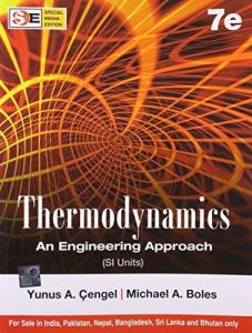 THERMODYNAMICS AN ENGINEERING APPROACH BY YUNUS A.CENGEL MICHAEL A.BOLES
