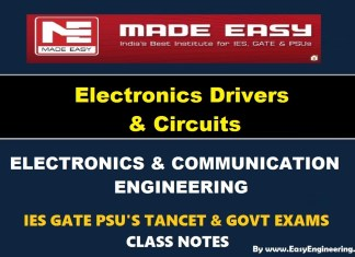Electronic Devices and Circuits EasyEngineering Team IES GATE PSU's TANCET & GOVT Exams Study Material For Electronics Communication Engineering – PDF Free Download