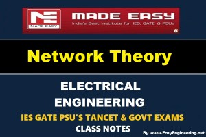 [PDF] Network Theory Made Easy Study Materials (Notes) Free Download
