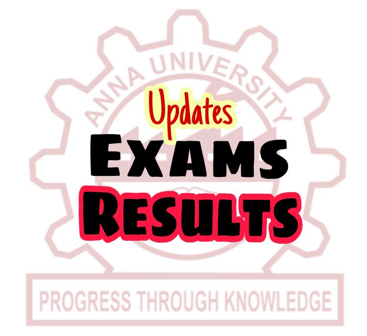 Anna University Results April/May 2018