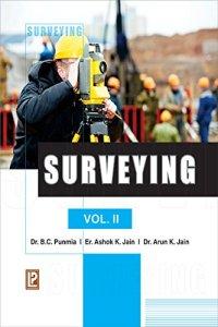 Surveying Vol.II By Dr. B. C. Punmia, Ashok Kumar Jain, Dr Arun Kuma Jain – PDF Free Download