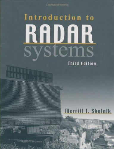 PDF] Introduction to Radar Systems By Merrill Skolnik Book