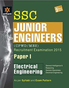 SSC Junior Engineer Electrical Engineering Paper 1 By Arihant Experts