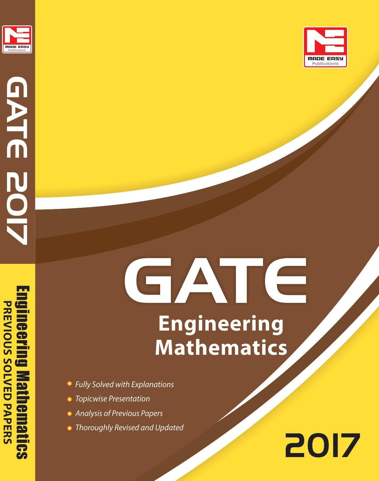 Made Easy GATE Engineering Mathematics
