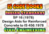 SP 16: Design Aids for Reinforced Concrete to IS 456:1978