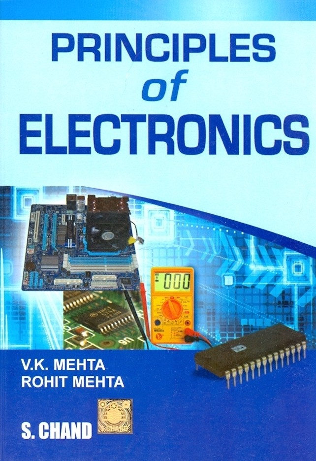 PDF] Principles of Electronics By V  K  Mehta, Rohit Mehta Book Free