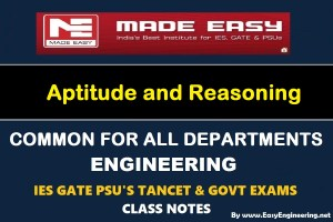 EasyEngineering Team Aptitude and Reasoning Notes