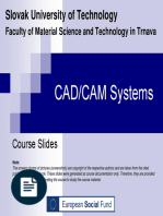 CAD CAM SYSTEM BY SLOVAK UNIVERSITY OF TECHNOLOGY