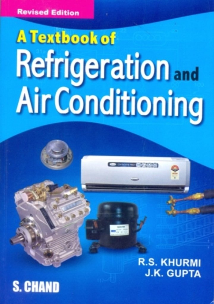 PDF] Textbook of Refrigeration and Air Conditioning By R S