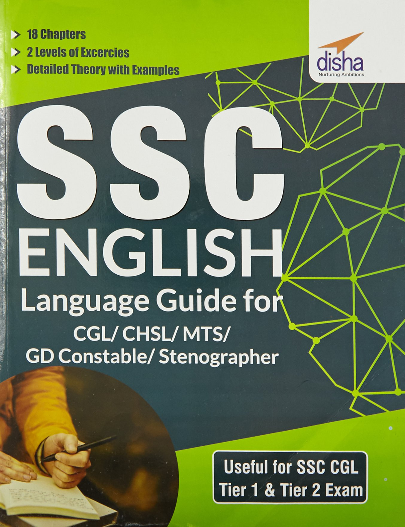 SSC English Language Guide for CGL/CHSL/MTS/GD Constable/Stenographer By Disha Experts