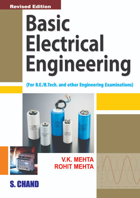 Pdf Basic Electrical Engineering By V K Mehta Rohit Mehta Book