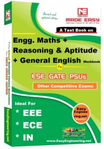 Made Easy Engg. Mathematics + Reasoning & Aptitude + General English Workbook