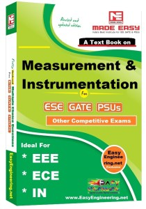 Measurement and Instrumentation Made Easy Study Materials for GATE IES PSUs
