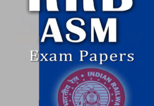 RRB Assistant Station Master (ASM) Previous Year Exam Papers
