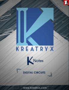 Digital Circuits Kreatryx Study Materials