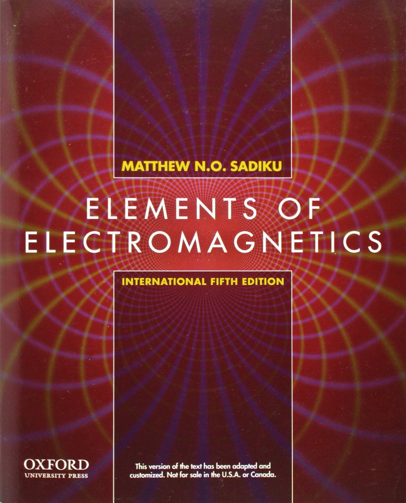 Electromagnetic Fields By Bakshi Ebook