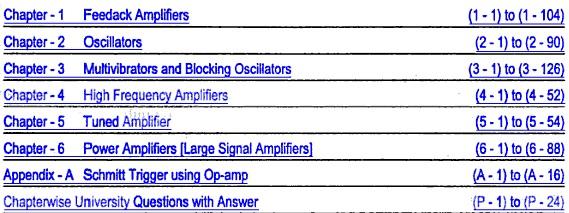 Fundamentals Of Analog Electronics Pdf