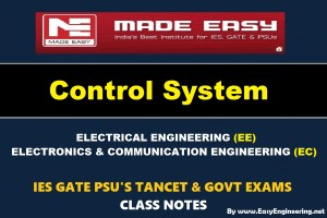 CONTROL SYSTEM Handwritten Made Easy IES GATE PSU's TNPSC TRB TANCET SSC JE AE AEE & GOVT EXAMS Study Materials