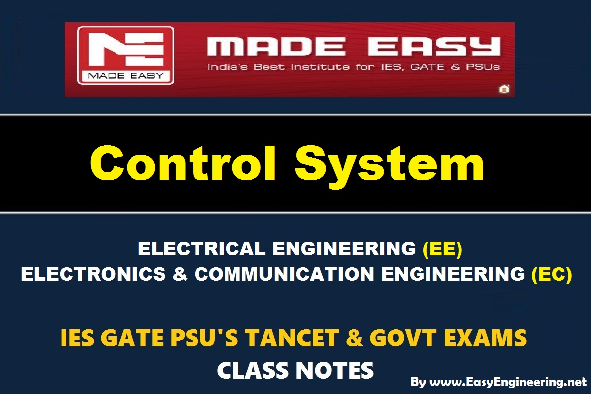 Control Systems Textbook By Nagoor Kani Pdf