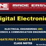 DIGITAL ELECTRONICSHandwritten EasyEngineering Team IES GATE PSU's TNPSC TRB TANCET SSC JE AE AEE& GOVT EXAMS Study Materials