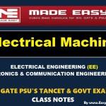 ELECTRICAL MACHINESHandwritten EasyEngineering Team IES GATE PSU's TNPSC TRB TANCET SSC JE AE AEE& GOVT EXAMS Study Materials