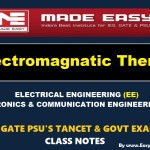 ELECTRO MAGNETIC THEORY Handwritten EasyEngineering Team IES GATE PSU's TNPSC TRB TANCET SSC JE AE AEE & GOVT EXAMS Study Materials