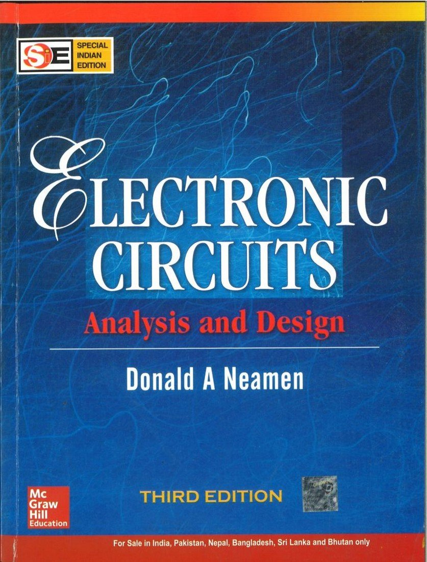 Pdf Electronic Circuits Analysis And Design By Donald Neamen Book