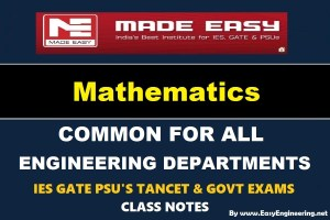 Made Easy ENGINEERING MATHEMATICS