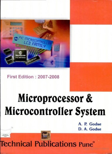 PDF Microprocessor And Microcontroller System By A P Godse D Book Free Download EasyEngineering