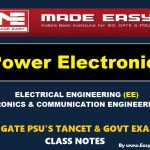 POWER ELECTRONICS Handwritten Made Easy IES GATE PSU's TNPSC TRB TANCET SSC JE AE AEE & GOVT EXAMS Study Materials