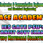 ACE Engineering Academy IES GATE PSU's TNPSC TANCET SSC JE AE AEE & GOVT EXAMS Study Materials