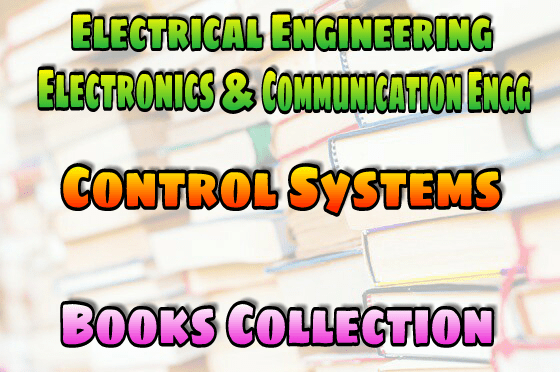 PDF] Control Systems Books Collection Free Download