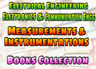 Measurements And Instrumentations Books