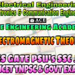 ELECTROMAGNETIC THEORYACE Engineering Academy IES GATE PSU's TNPSC TANCET & GOVT EXAMS Study Materials