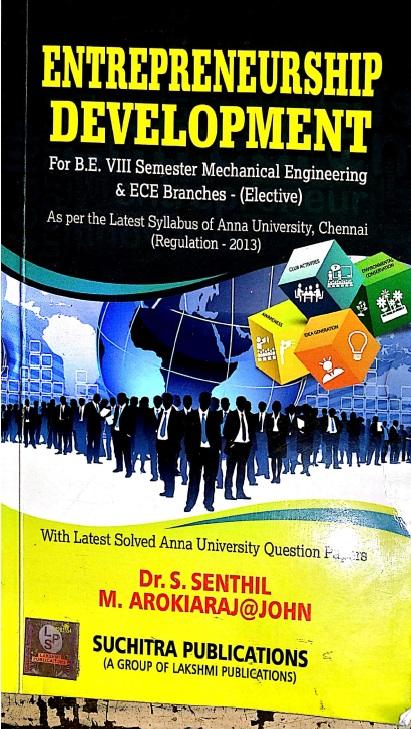 PDF] Entrepreneurship Development By Dr  S  Senthil (Local