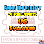 Anna University UG Syllabus