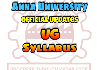 Anna University Syllabus