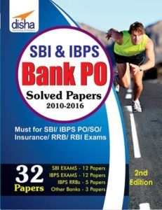 SBI & IBPS Bank PO Solved Papers - 32 Papers By Disha Experts