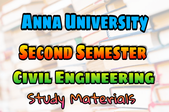PDF] Anna University Civil Engineering Second Semester Books
