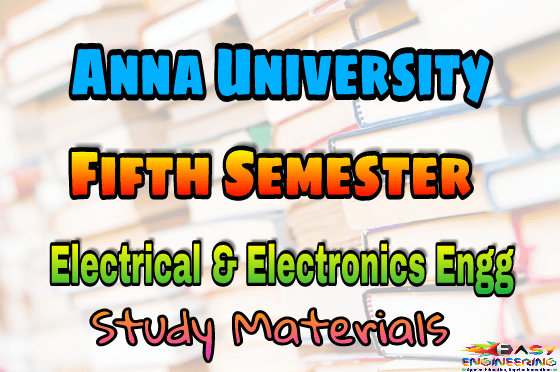 PDF] Anna University Electrical and Electronic Engineering Fifth