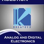 Analog and Digital Electronics Kuestion (Kreatryx Publications) Study Materials