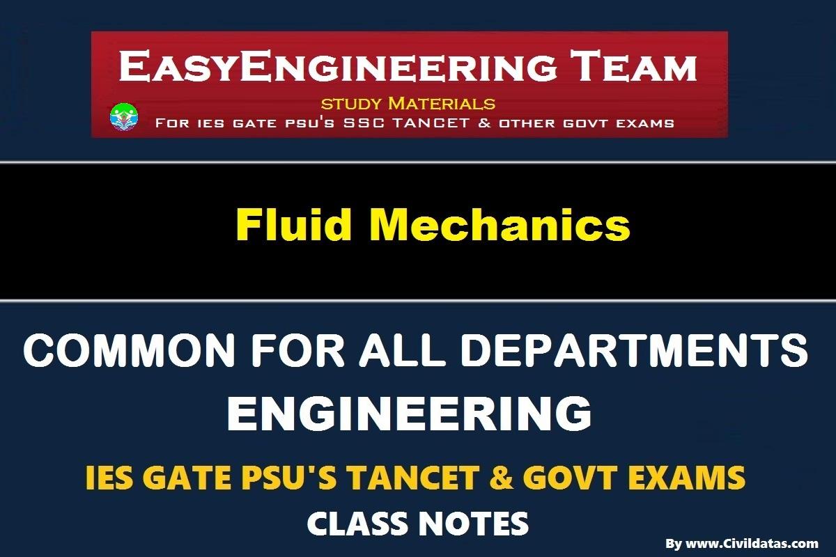 PDF] EasyEngineering Team Fluid Mechanics Handwritten Classroom