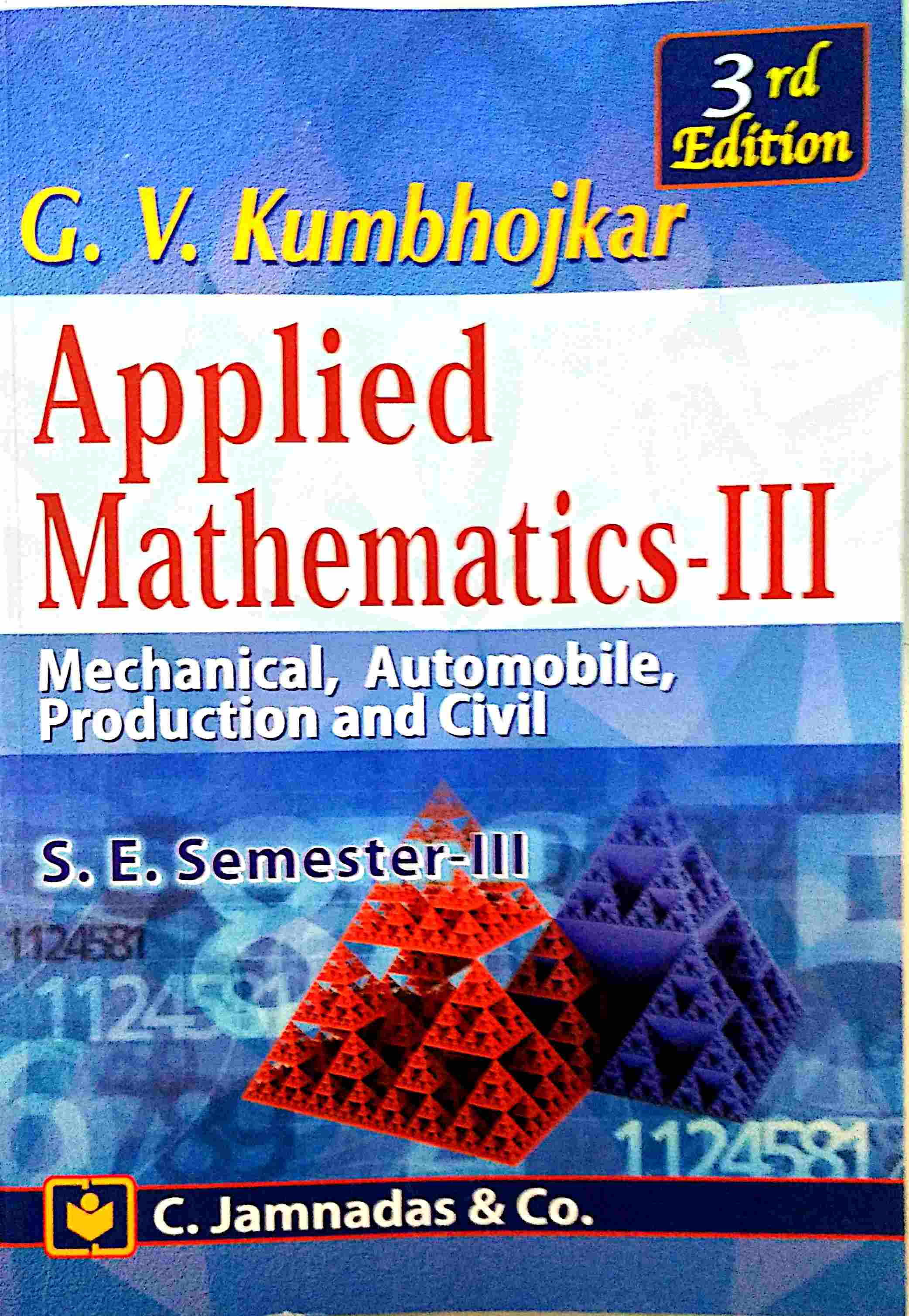 Applied Mathematics 4 Kumbhojkar Pdf