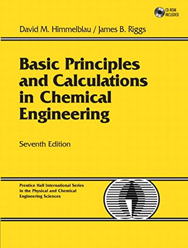 Chemical engineering calculations essay
