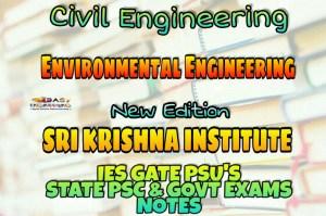Sri Krishna Institute Environmental Engineering Handwritten Classroom Notes