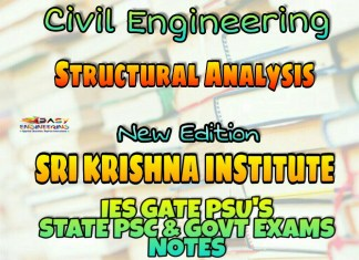 Sri Krishna Institute Structural Analysis Handwritten Classroom Notes
